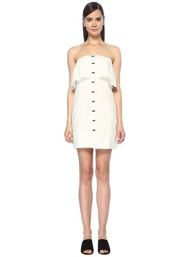 Vix Plaj Elbisesi Beyaz
